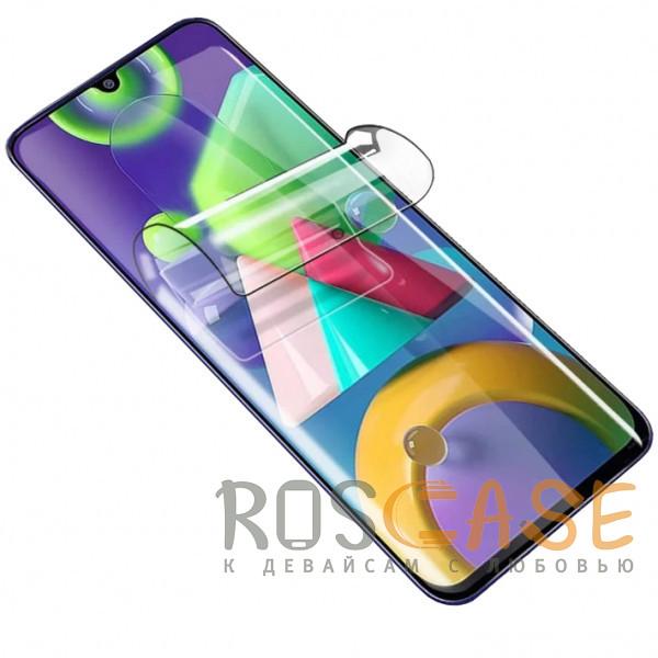 Фото Прозрачная Гидрогелевая защитная плёнка Rock для Samsung Galaxy M21