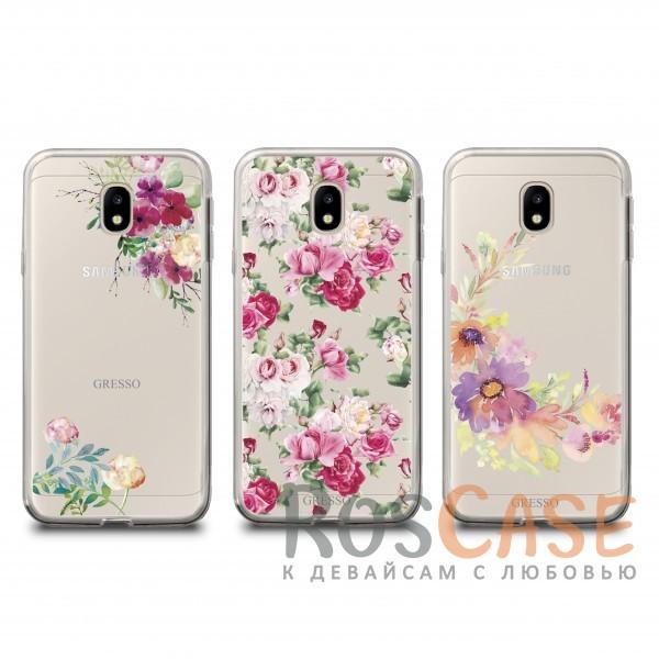 Прозрачный силиконовый чехол Gresso с нежным цветочным принтом для Samsung J330 Galaxy J3 (2017)Описание:бренд - Gresso;совместим с Samsung J330 Galaxy J3 (2017);цветочный принт;материал - TPU;тип - накладка;прозрачный;защищает от ударов и царапин;гибкий.<br><br>Тип: Чехол<br>Бренд: Gresso<br>Материал: TPU
