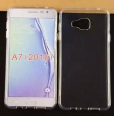 Ультратонкий силиконовый чехол  для Samsung Galaxy A7 2016 (A710F)