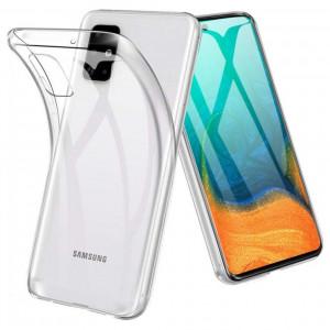 Прозрачный силиконовый чехол  для Samsung Galaxy A71