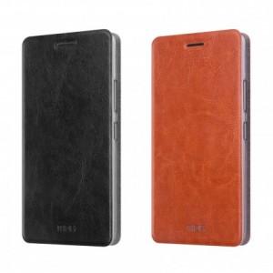 MOFI Rui | Кожаный чехол-книжка для Lenovo K6 Note / K6 Plus с функцией подставки
