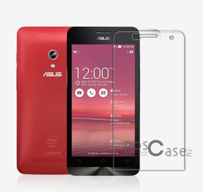 Прозрачная глянцевая защитная пленка Nillkin на экран с гладким пылеотталкивающим покрытием для Asus Zenfone 5 (A501CG)Описание:производитель:&amp;nbsp;Nillkin;совместимость: Asus Zenfone 5&amp;nbsp;(A501CG);материал: полимер;тип: защитная пленка.&amp;nbsp;Особенности:все необходимые функциональные вырезы в наличии;не притягивает пыль;не влияет на чувствительность сенсора;легко очищается;на ней не остаются потожировые следы.<br><br>Тип: Защитная пленка<br>Бренд: Nillkin