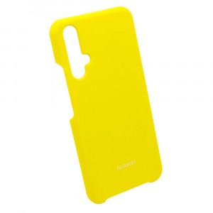 Silicone Cover | Силиконовый чехол с микрофиброй  для Huawei Nova 5T