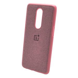 Fiber Logo | TPU чехол с текстильным покрытием для OnePlus 6