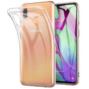 Clear Original | Прозрачный TPU чехол 2мм для Samsung Galaxy A40