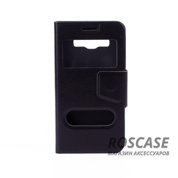 Чехол (книжка) с TPU креплением для Samsung A300H / A300F Galaxy A3 (Черный)Описание:компания разработчик: Epik;совместимость с устройством модели: Samsung A300H / A300F Galaxy A3;материал изделия: искусственная кожа и термополиуретан;конфигурация: обложка в виде книжки.Особенности:всесторонняя защита смартфона;высокий класс износоустойчивости;функция подставки;имеет два окошка;имеет все функциональные отверстия.<br><br>Тип: Чехол<br>Бренд: Epik<br>Материал: Искусственная кожа