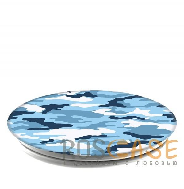 Изображение Защитный голубой Складная подставка-держатель Попсокет с необычными изображениями