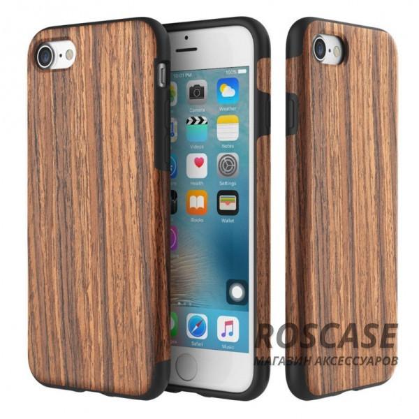 Деревянная накладка Rock Origin Series (Grained) для Apple iPhone 7 plus (5.5) (Rosewood)Описание:бренд Rock;подходит для Apple iPhone 7 plus (5.5);форм-фактор: накладка;материал: термополиуретан и натуральное дерево.Особенности:чехол выполняет защитную и декоративную функцию;предотвращает появление царапин или других повреждений корпуса телефона;фактура шероховатая;фиксация надежная;текстура приятная на ощупь;дизайн оригинальный.<br><br>Тип: Чехол<br>Бренд: ROCK<br>Материал: TPU