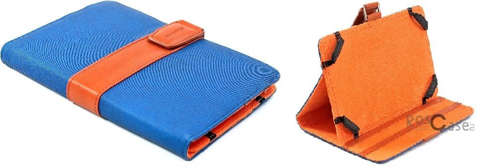 Универсальный чехол Grand-X Jersey 725 для планшета 7 (Синий)<br><br>Тип: Чехол<br>Бренд: Grand-X<br>Материал: Искусственная кожа