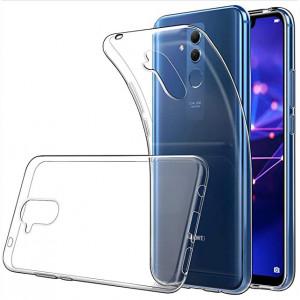 Прозрачный силиконовый чехол для Huawei Mate 20 lite