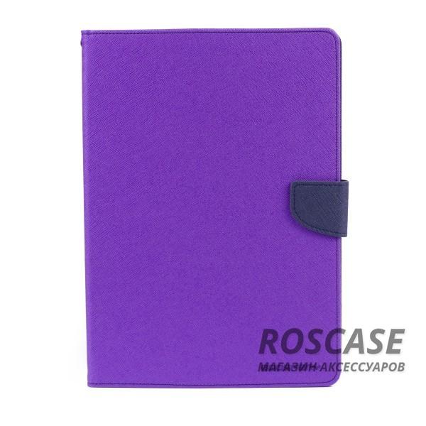Чехол (книжка) Mercury Fancy Diary series для Samsung Galaxy Tab S2 9.7 (Фиолетовый / Синий)Описание:производитель  -  бренд&amp;nbsp;Mercury;совместим с Samsung Galaxy Tab S2 9.7;материалы  -  искусственная кожа, термополиуретан;форма  -  чехол-книжка.&amp;nbsp;Особенности:рельефная поверхность;все функциональные вырезы в наличии;внутренние кармашки;магнитная застежка;защита от механических повреждений;трансформируется в подставку.<br><br>Тип: Чехол<br>Бренд: Mercury<br>Материал: Искусственная кожа