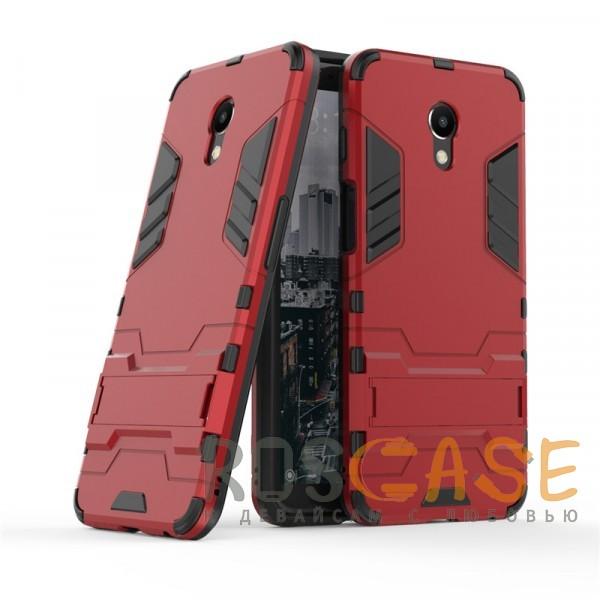 Фото Красный / Dante Red Transformer | Противоударный чехол для Meizu M6s с мощной защитой корпуса