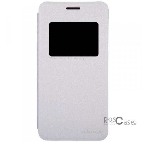 Кожаный чехол (книжка) Nillkin Sparkle Series для Asus Zenfone 5 (A501CG) (Белый)Описание:Изготовлен компанией&amp;nbsp;Nillkin;Спроектирован персонально для Asus Zenfone 5&amp;nbsp;(A501CG);Материал: синтетическая кожа и полиуретан;Форма: чехол в виде книжки.Особенности:Исключается появление царапин и возникновение потертостей;Восхитительная амортизация при любом ударе;Фактурная поверхность;Удобное интерактивное окошко;Не подвергается деформации;Непритязателен в уходе.<br><br>Тип: Чехол<br>Бренд: Nillkin<br>Материал: Искусственная кожа