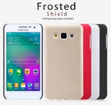 фото Матовый чехол Nillkin Super Frosted Shield для Samsung A300H / A300F Galaxy A3 (+ пленка)