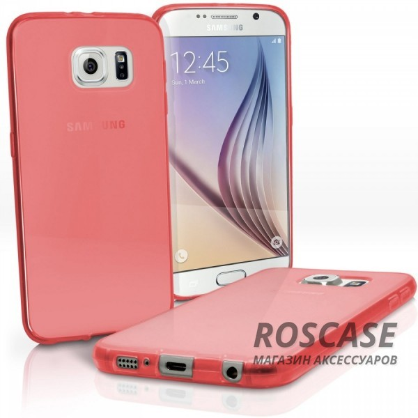 TPU чехол для Samsung Galaxy S6 G920F/G920D Duos (Красный (soft touch))Описание:производитель - бренд&amp;nbsp;Epik;совместим с Samsung Galaxy S6 G920F/G920D Duos;материал: термополиуретан;тип: накладка.Особенности:тонкий дизайн;легкая фиксация;защита от царапин;эластичный;не деформируется.<br><br>Тип: Чехол<br>Бренд: Epik<br>Материал: TPU