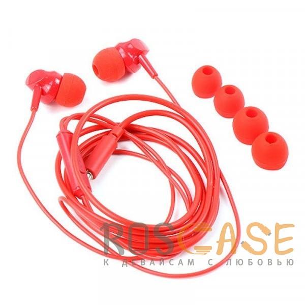 Фотография Красный HOCO M14   Стерео наушники с микрофоном