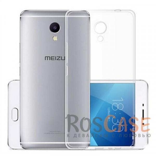 Фото Ультратонкий силиконовый чехол для Meizu M5c