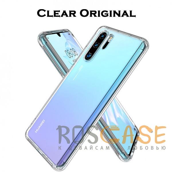 Изображение Clear Case | Прозрачный TPU чехол 2мм для Huawei P30