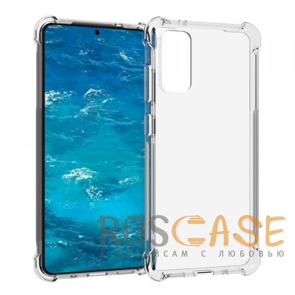 Фото Прозрачный King Kong | Противоударный прозрачный чехол для Samsung Galaxy S20 FE (Fan Edition) с защитой углов