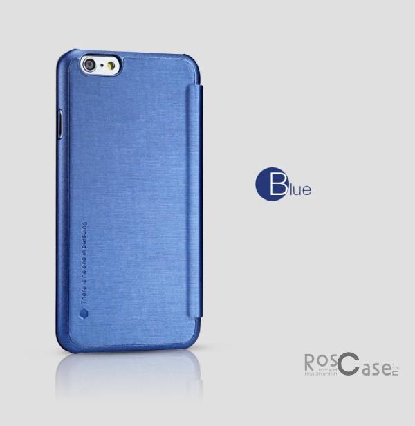 Кожаный чехол (книжка) Nillkin Rain Series для Apple iPhone 6/6s (4.7) (+ пленка) (Синий)Описание:производитель  -  компания&amp;nbsp;Nillkin;совместимость - Apple iPhone 6/6s (4.7);материалы  -  искусственная кожа, поликарбонат;форма  -  чехол-книжка.&amp;nbsp;Особенности:в наличии все функциональные вырезы;надежная система крепления;тонкий и легкий;пленка в комплекте;защита от ударов и царапин;необычный дизайн.<br><br>Тип: Чехол<br>Бренд: Nillkin<br>Материал: Искусственная кожа