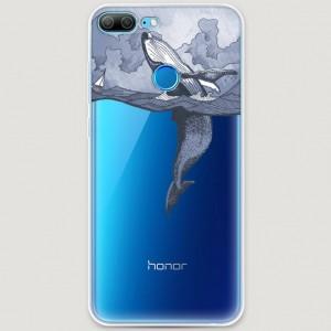 RosCase | Силиконовый чехол Два измерения на Huawei Honor 9 Lite