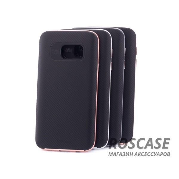 Чехол iPaky TPU+PC для Samsung G930F Galaxy S7Описание:производитель: iPaky;совместимость: смартфон Samsung G930F Galaxy S7;материал для изготовления: термополиуретан и поликарбонат;форм-фактор: накладка;Особенности:яркий, запоминающийся дизайн;дополнительный каркас из поликарбоната;прочность и износостойкость;ультратонкий;есть все необходимые функциональные вырезы;легко очищается.<br><br>Тип: Чехол<br>Бренд: Epik<br>Материал: TPU