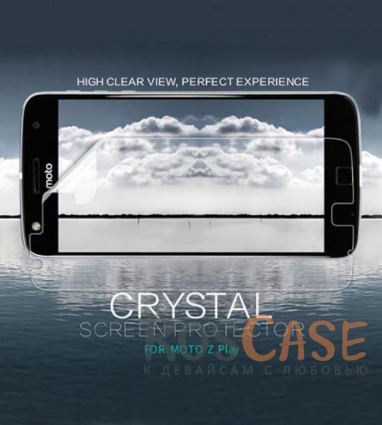 Защитная пленка Nillkin Crystal для Motorola Moto Z Play<br><br>Тип: Защитная пленка<br>Бренд: Nillkin