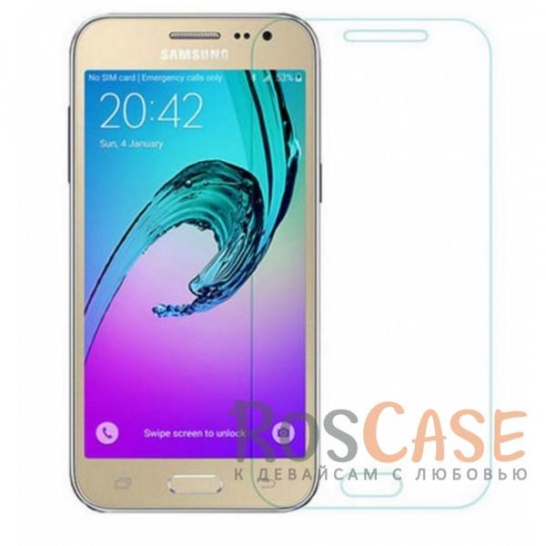 Защитное стекло CaseGuru Tempered Glass 0.33mm (2.5D) для Samsung J320F Galaxy J3 (2016) (Прозрачное)<br><br>Тип: Защитное стекло<br>Бренд: CaseGuru