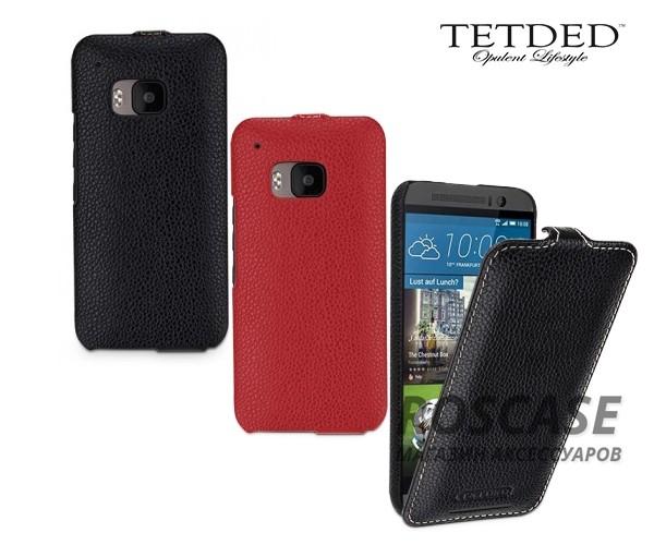 Кожаный чехол (флип) TETDED для HTC One / M9Описание:производитель - бренд&amp;nbsp;Tetdedизготовлен для HTC One / M9;материал  -  натуральная кожа;тип - флип (вниз).&amp;nbsp;Особенности:элегантный дизайн;не скользит в руках;защищает смартфон со всех сторон;легко устанавливается и снимается.<br><br>Тип: Чехол<br>Бренд: TETDED<br>Материал: Натуральная кожа