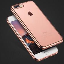"""Силиконовый чехол для Apple iPhone 7 Plus (5.5"""") с глянцевой окантовкой"""