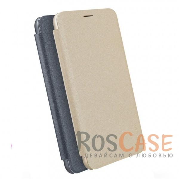 Защитный чехол-книжка для Xiaomi Redmi 5 PlusОписание:спроектирован для Xiaomi Redmi 5 Plus;материалы: поликарбонат, искусственная кожа;блестящая поверхность;не скользит в руках;предусмотрены все необходимые вырезы;защита со всех сторон;тип: чехол-книжка.<br><br>Тип: Чехол<br>Бренд: Nillkin<br>Материал: Искусственная кожа
