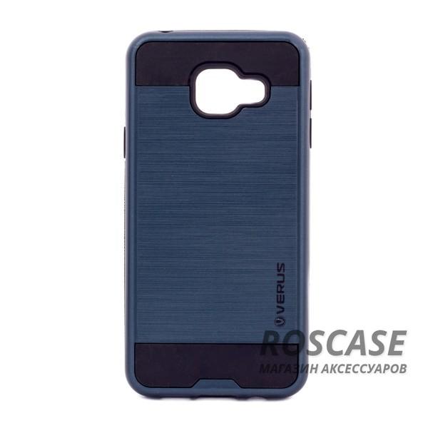 Двухслойный ударопрочный чехол с защитными бортами экрана Verge для Samsung A310F Galaxy A3 (2016) (Синий)Описание:совместимость  -  смартфон Samsung A310F Galaxy A3 (2016).материал для изготовления  -  поликарбонат, термопластичный полиуретан;форм-фактор  -  чехол-накладка;Особенности:надежный механизм фиксации;механизм функции подставки;не подвергается деформации.имеет все функциональные вырезы;легко чистится.<br><br>Тип: Чехол<br>Бренд: Epik<br>Материал: Пластик