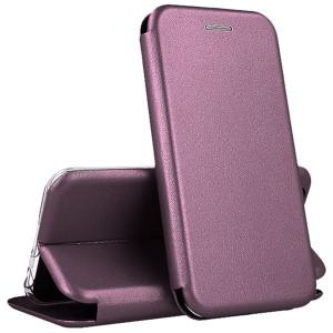Open Color | Кожаный чехол-книжка  для Huawei P40 Lite E