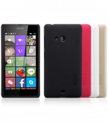Nillkin Super Frosted Shield | Матовый чехол для Microsoft Lumia 540 (+ пленка)