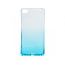 Гибкий чехол для Meizu U20 из прозрачного силикона с градиентным цветным напылением