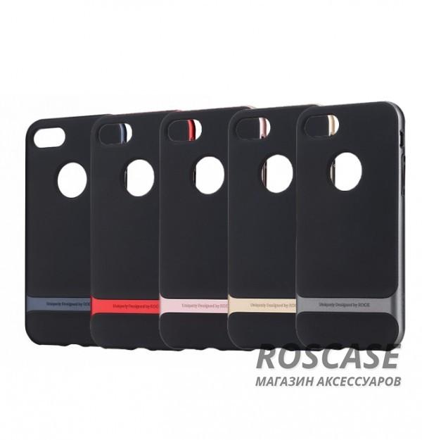 TPU+PC чехол Rock Royce Series для Apple iPhone 7 plus (5.5)Описание:производитель  - &amp;nbsp;Rock;совместимость - Apple iPhone 7 plus (5.5);материалы  -  термополиуретан, поликарбонат;тип  -  накладка.&amp;nbsp;Особенности:амортизирует удары;имеет все необходимые вырезы;оригинальный дизайн;не увеличивает габариты;защищает от царапин и потертостей;износостойкий.<br><br>Тип: Чехол<br>Бренд: ROCK<br>Материал: TPU