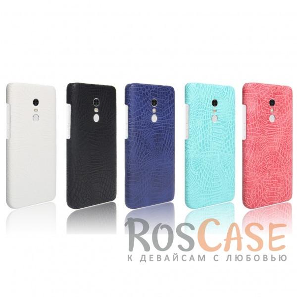 Кожаный чехол с узором из крокодиловой кожи Croc Series для Xiaomi Redmi Note 4<br><br>Тип: Чехол<br>Бренд: Epik<br>Материал: Искусственная кожа