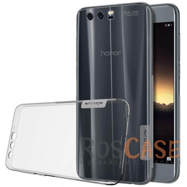 Nillkin Nature | Силиконовый чехол для Huawei Honor 9 (Серый (прозрачный))