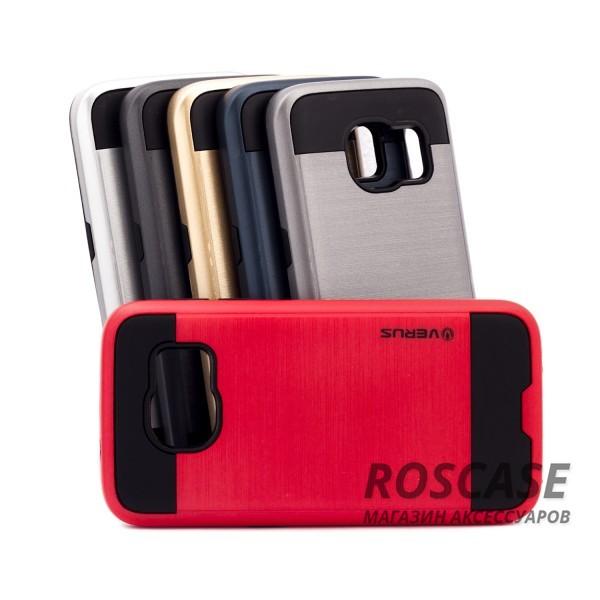 Двухслойный ударопрочный чехол с защитными бортами экрана Verge для Samsung G930F Galaxy S7Описание:бренд - Verge;разработан для&amp;nbsp;Samsung G930F Galaxy S7;материал - термополиуретан, поликарбонат;тип - накладка.&amp;nbsp;Особенности:защита от ударов;не препятствует работе со смартфоном;не скользит в руках;высокие бортики защищают экран;надежное крепление;укрепленная конструкция.<br><br>Тип: Чехол<br>Бренд: Epik<br>Материал: TPU