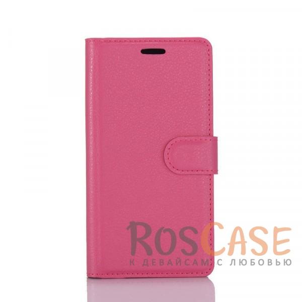 Гладкий кожаный чехол-бумажник на магнитной застежке Wallet с функцией подставки и внутренними карманами для Sony Xperia XA / XA Dual (Малиновый)Описание:совместимость - Sony Xperia XA / XA Dual;материалы  -  искусственная кожа, TPU;форма  -  чехол-книжка;фактурная поверхность;предусмотрены все функциональные вырезы;кармашки для визиток/кредитных карт/купюр;магнитная застежка;защита от механических повреждений.<br><br>Тип: Чехол<br>Бренд: Epik<br>Материал: Искусственная кожа