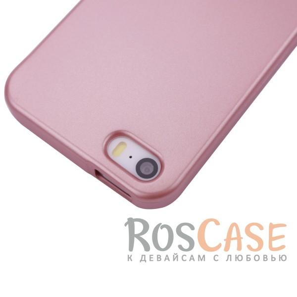 Изображение Rose Gold Mercury iJelly Metal | Силиконовый чехол для Apple iPhone 5/5S/SE