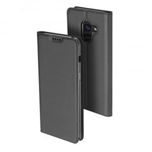 Dux Ducis | Чехол-книжка для Samsung A730 Galaxy A8+ (2018) с функцией подставки и картхолдером