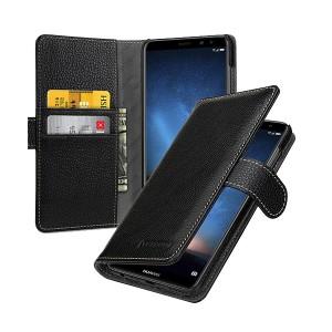 TETDED натур. кожа | Чехол-книжка для Gerzat с магнитной застежкой для Huawei Mate 10 Lite