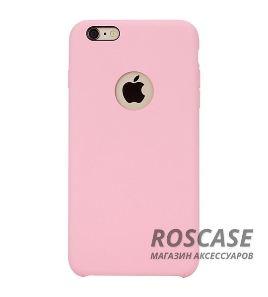 "TPU чехол Rock Silicon Touch Series для Apple iPhone 6/6s (4.7"") (Розовый / Pink)"