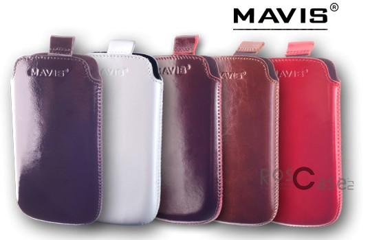 Фото кожаного чехла Mavis Premium для Apple iPhone 4/4S