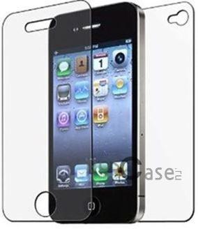 фото защитная пленка Auris (на обе стороны) для Apple iPhone 4/4S