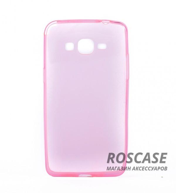 TPU чехол Remax 0.2mm для Samsung G530H/G531H Galaxy Grand Prime (Розовый (прозрачный))Описание:бренд  - &amp;nbsp;Remax;разработан для Samsung G530H/G531H Galaxy Grand Prime;материал - термополиуретан;тип - накладка.Особенности:ультратонкий дизайн - 0,2 мм;прозрачный;гибкий;защита от ударов и царапин;наличие всех вырезов.<br><br>Тип: Чехол<br>Бренд: Remax<br>Материал: TPU