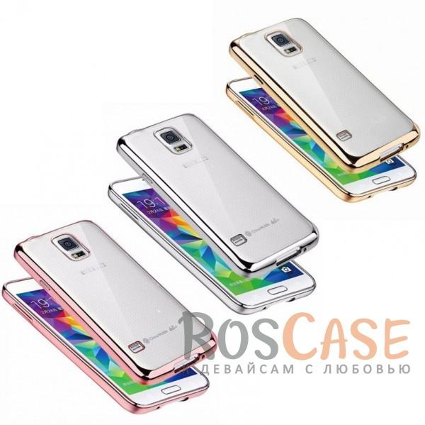 Прозрачный силиконовый чехол для Samsung G900 Galaxy S5 с глянцевой окантовкойОписание:совместим с Samsung G900 Galaxy S5;материал - термополиуретан;тип - накладка.<br><br>Тип: Чехол<br>Бренд: Epik<br>Материал: TPU