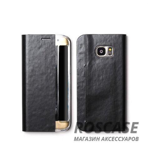 Кожаный чехол Zenus Masstige Basic Diary для Samsung G935F Galaxy S7 Edge (Черный / Black)Описание:производитель  - &amp;nbsp;Zenus;совместим с&amp;nbsp;Samsung G935F Galaxy S7 Edge;материал  -  искусственная кожа, поликарбонат;форма  -  чехол-книжка.&amp;nbsp;Особенности:стильный дизайн;пластиковая вставка в обложке;окошко для вызова функций;в наличии все функциональные вырезы;не скользит в руках;тонкий дизайн;защищает от ударов и царапин.<br><br>Тип: Чехол<br>Бренд: Zenus<br>Материал: Искусственная кожа