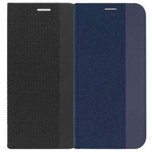 Fabric Book   Чехол-книжка с текстильным покрытием для Huawei P30 Pro